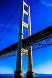 Ponte de Mackinac Foto de Stock
