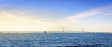 Ponte de Mackinac fotografia de stock royalty free
