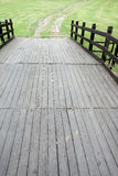Ponte de madeira Fotografia de Stock Royalty Free