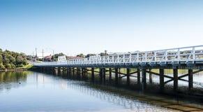 Ponte de madeira Foto de Stock Royalty Free