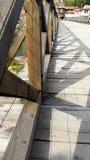 Ponte de madeira velha Fotografia de Stock Royalty Free