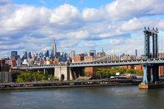 Ponte de Manhattan Imagem de Stock Royalty Free