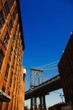 Ponte de Manhattan Foto de Stock Royalty Free