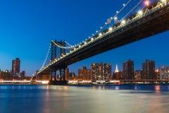 Ponte de Manhattan Fotografia de Stock