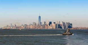Ponte de Manhattan e de Brooklyn Foto de Stock