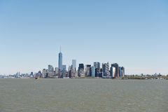 Ponte de Manhattan e de Brooklyn Foto de Stock Royalty Free