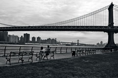 Ponte de Manhattan em Manhattan New York City Foto de Stock Royalty Free