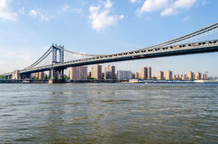 Ponte de Manhattan, New York Fotos de Stock Royalty Free