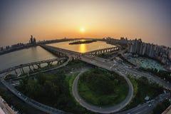 Ponte de Mapo Imagens de Stock Royalty Free