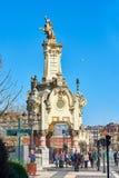 Ponte de Maria Cristina de San Sebastian País Basque, Guipuzcoa spain Imagens de Stock Royalty Free