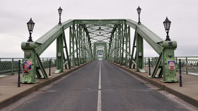 Ponte de Marie Valerie, Esztergom, Sturovo Imagem de Stock