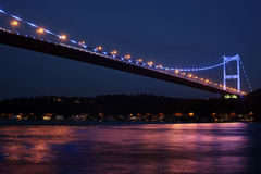 Ponte de Mehmet da sultão de Fatih Imagens de Stock Royalty Free