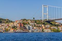 Ponte de Mehmet da sultão de Fatih Fotos de Stock
