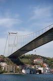 Ponte de Mehmet da sultão de Fatih (Istambul, Turquia) Imagens de Stock Royalty Free