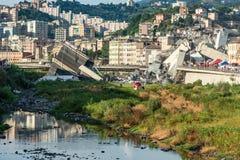 Ponte de Morandi fotografia de stock royalty free