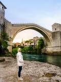 Ponte de Mostar fotos de stock royalty free