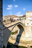 A ponte de Mostar Imagens de Stock
