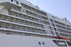 Ponte de navio do passageiro foto de stock royalty free