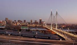 Ponte de Nelson.Mandela imagem de stock royalty free