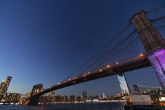 Ponte de New York foto de stock
