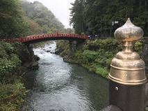 Ponte de Nikko Shinkyo imagem de stock