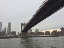 Ponte de NY Imagem de Stock Royalty Free