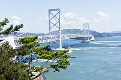 Ponte de Onaruto foto de stock