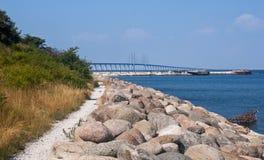 Ponte de Oresund Fotos de Stock Royalty Free
