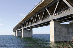 Ponte 5 de Oresund Imagem de Stock