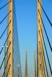 Ponte de Oresund da opinião do detalhe Imagem de Stock Royalty Free