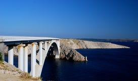 Ponte de Paski foto de stock royalty free