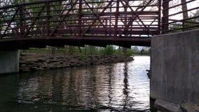 Ponte de passeio Imagem de Stock