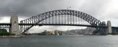 Ponte de passeio do porto Fotografia de Stock Royalty Free