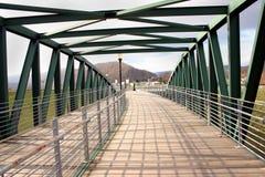 Ponte de pedestre Imagem de Stock