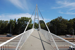 Ponte de pedestre Foto de Stock Royalty Free