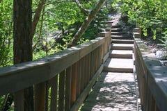 Ponte de pedestre Fotografia de Stock