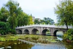 Ponte de pedra fotografia de stock