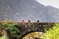 A ponte de pedra Imagem de Stock Royalty Free