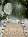Ponte de pedra ilustração stock