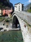Ponte de pedra antiga Imagem de Stock