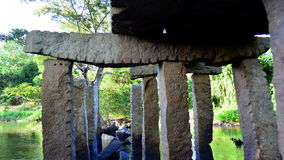 Ponte de pedra antiga Imagem de Stock Royalty Free