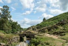 Ponte de pedra em quedas de Bronte Imagens de Stock