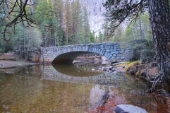 Ponte de pedra em Yosemite Fotografia de Stock Royalty Free
