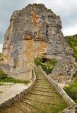 Ponte de pedra em Zagoria Fotos de Stock