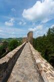 Ponte de pedra no castelo Velhartice Imagens de Stock Royalty Free