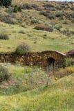 Ponte de pedra velha fotografia de stock