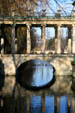 Ponte de pedra velha foto de stock