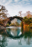 A ponte de pedra velha imagens de stock