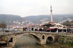 Ponte de pedra velha, Prizren imagens de stock royalty free