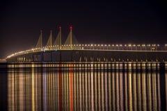 Ponte de Penang segundo Fotografia de Stock